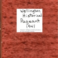 1941 Wellington Pageant  Program - Chamber copy.pdf